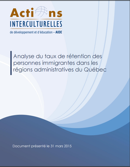 Analyse du taux de rétention des personnes immigrantes